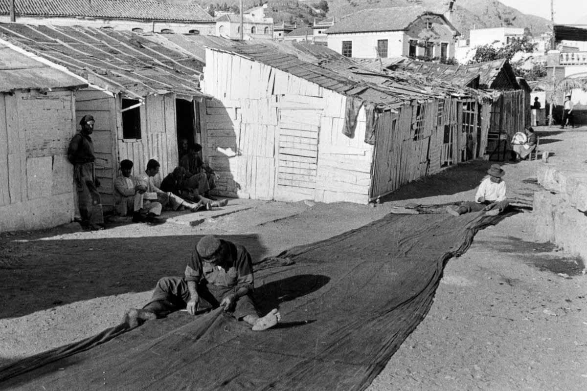 El origen del barrio de La Malagueta: de las casas de pescadores a un 'skyline' propio
