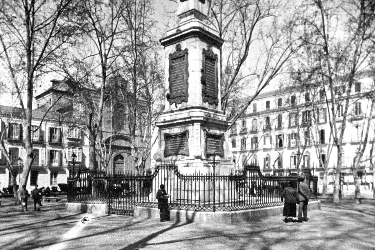 48 cadáveres en la plaza de La Merced: la historia de Torrijos y sus hombres