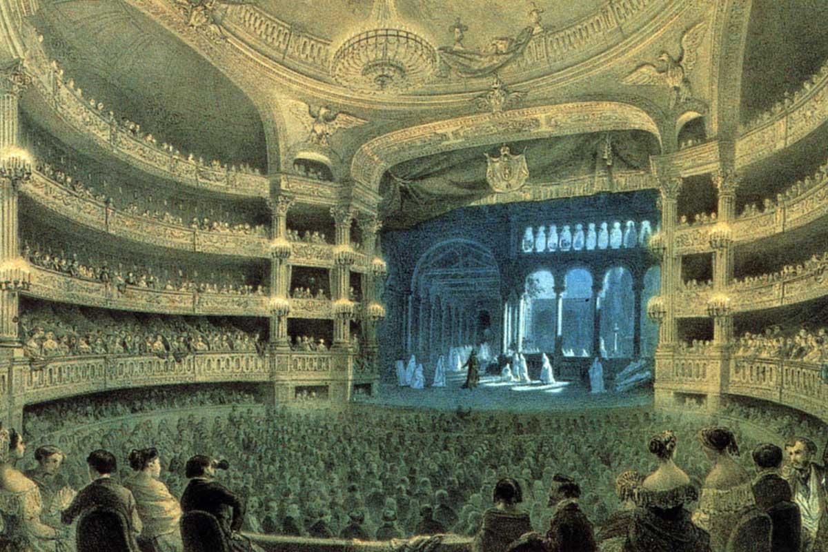 Ópera italiana, ópera francesa en el XIX: dos propuestas, dos destinos